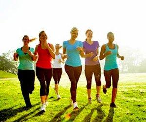 Бег для похудения весной