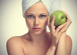 Маски из яблок для лица