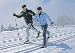 лыжи помогают похудеть