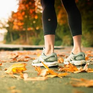 Осенняя пробежка