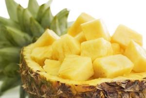 разгрузочный день на ананасе