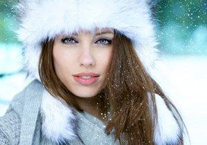 Пудра зимой фото
