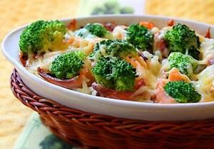 Запеканка из овощей на пару для похудения