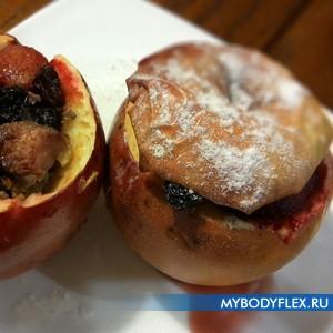 Яблоки запеченные в духовке фаршированные