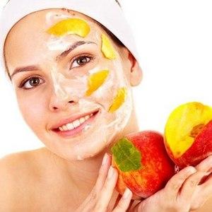 Маски из абрикоса и персиков для лица