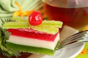 Низкокалорийные десерты с желатином