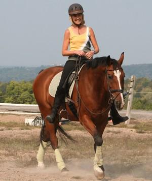 Верховая езда расход калорий