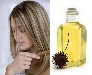 Маски с касторовым маслом для волос