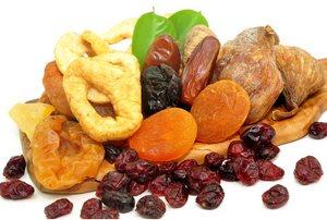 Полезные сладости сухофрукты
