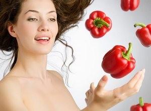 Болгарский перец польза для кожи лица