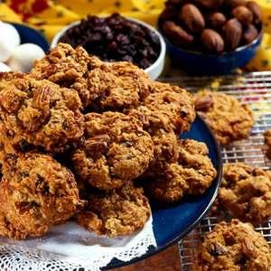 рецепт диетического овсяного печенья из овсяных хлопьев со сметаной
