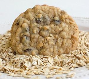 Низкокалорийное овсяное печенье