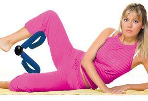 упражнения с эспандером для ног и ягодиц
