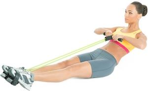 упражнения с эспандером для груди