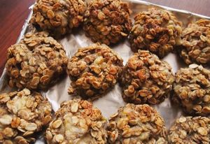 низкокалорийное овсяное печенье рецепт